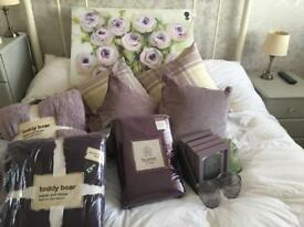 Purple living room bundle all Brand New