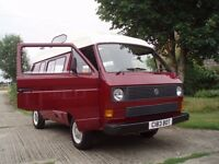 Volkswagen motor home Camper van. Exterior, underneath etc all excellent, drives superbly