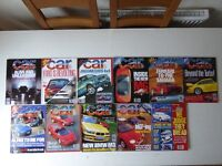 Vintage editions of CAR Magazine from 1995. 11 issues.