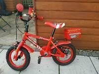 Boys fire chief bike BARGAIN **new price**