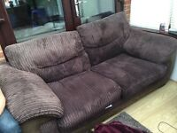 Small three seater settee