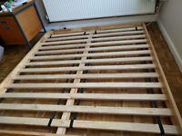 Solid wood japanese style bedframe or tatami base