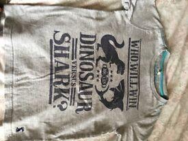 Boys Joules Tshirts. Age 7-8.