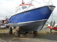 38ft steel work/fishing boat