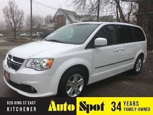 2016 Dodge Grand Caravan Crew Plus/LEATHER/LOADED/LOW,LOW KMS!