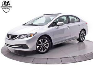 2014 Honda Civic EX TOIT BANCS CHAUFFANTS CAMÉRA DE RECUL
