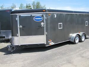 2016 United 7x23 ATV/ Sled Trailer Peterborough Peterborough Area image 1