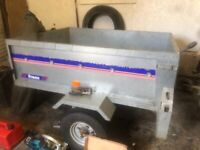 Single axel galvanised car trailer great condition ready to use