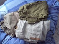 Men's Combat Trousers x 3 Pairs-Used but super condition
