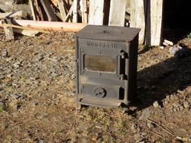 Wood/solid fuel stove for sale.