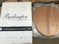Burlington Oak Toilet Seat