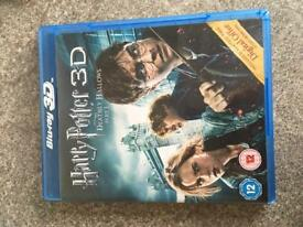 Harry Potter dvd 3D