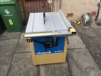 Scheppach Ts4010 3 phase table saw