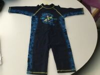 Two boys all in one swimsuits age 2-3 years £6