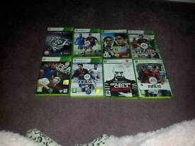 Selextion of xbox 360 games