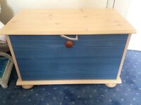 Wardrobe and toy chest