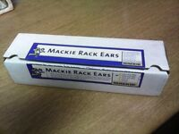 MACKIE RACK EARS STILL IN BOX AS NEW NEVER USED