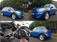 SEPTEMPER 2011 MINI COUNTYMAN COOPER DIESEL ALL4 Magnificent Example Full Serivce History Demo+1Own