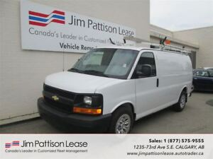 2013 Chevrolet Express 1500 5.3L AWD Fully Up Fitted Cargo Van