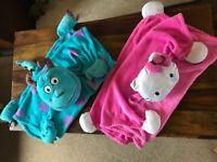 Hello Kitty Fleece blanket (Sully has been sold)
