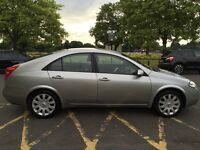 2006 Nissan Primera 1.8 SX Reverse Camera HPI Clear Warranted Mileage Optional 3 Months Warranty