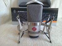 Neumann TLM 102 Studio Condenser Mic + Shockmount