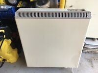 2x electric heaters and 2x storage heaters