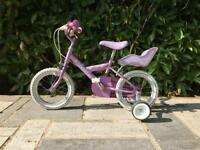 "Child's kids bike, 14"" wheels, up to age 7"