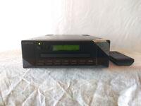 Cyrus DAD 1.5 CD Player - Upgraded filter (Smooth Black with Remote)