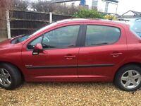 Peugeot 207 2010 (10) 5 door excellent condition
