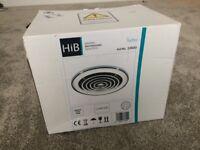 HiB Turbo Chrome Bathroom Extractor Fan (Brand New)