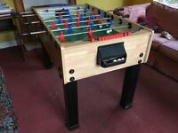 Full size table football (from John Lewis)