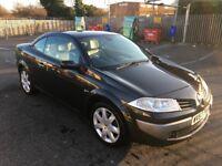 2007 Renault Megane Convertible 1.9 Diesel full mot £1195
