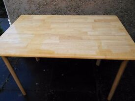 Lovely Pine Coloured Dining kitchen Table