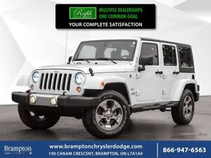 2017 Jeep Wrangler UNLIMITED SAHARA 4X4 | LOW KMS