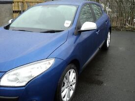 2011 Renault Megane iMusic 1.5dci 5 Door Hatchback in Metallic Blue