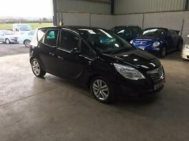 2011 Vauxhall Meriva se 1.7cdti panoramic roof 1 lady owner low miles guaranteed cheapest in country