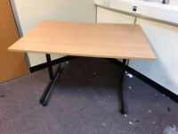 now sold -Folding Desk on Wheels - in Brighton - card payment accepted