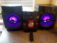 JVC BLUETOOTH SPEAKERS WITH LED LIGHTS