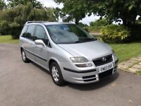 Fiat, ULYSSE, MPV, 2003, Manual, 7 seater.