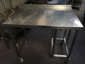 Stainless Steel Table.Catering Equipment,Work Bench 105cmx70cmx Height 92cm
