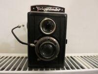 Voigtlander BRILLIANT camera and case