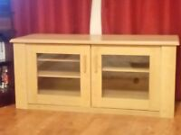 Solid Beech TV Cabinet for Sale