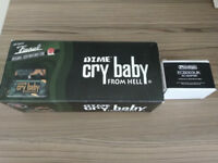 Dunlop Dime Bag Crybaby Wah Pedal + Power Supply