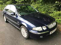 2003 Rover 45 Impression 2.0 Turbo Diesel - 12 months MOT