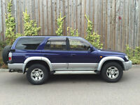 NEW SHAPE 1996 P - TOYOTA HILUX SURF 3.0 DIESEL AUTO 1 YEAR M.O.T