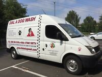 Mobile Dog Grooming franchise for sale - Dial A Dog Wash - covering East London (E4,11,17,18)