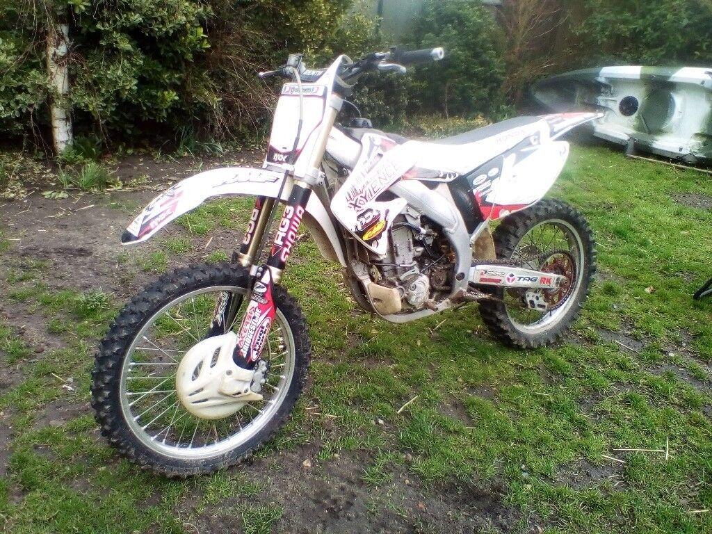 Honda Crf 450 2004 Motocross Bike Mx Project In Norwich Norfolk Bikes