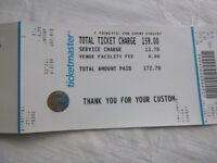 2 tickets for Bruno Mars