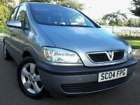 Zafira 7 Seater Diesel 44 MPG Moth July 17 Cd player Elec Windows & Mirrors low insurance new Tyers